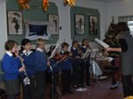 School children entertaining our residents in a function